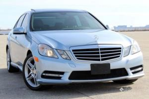 2013 Mercedes-Benz E-Class NO RESERVE!!! CLEAN CARFAX!!!
