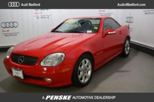 2003 Mercedes-Benz SLK-Class SLK230 2dr Kompressor Roadster 2.3L