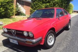 {NO RESERVE} RARE 1983 Alfa Romeo Alfasud Sprint Veloce 1.5 Photo