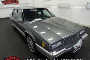1989 Cadillac DeVille Runs Drives Body Inter VGood 4.5LV8 4 spd auto