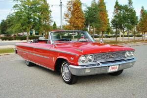 1963 Ford Galaxie 500 Convertible 'Z' Code 390 Big Block 4-Speed!