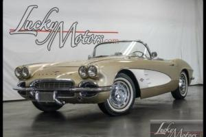 1961 Chevrolet Corvette Convertible Dual Quads