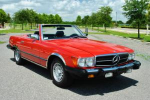 1985 Mercedes-Benz SL-Class spectacular 380SL Convertible 2-Tops Low Miles!
