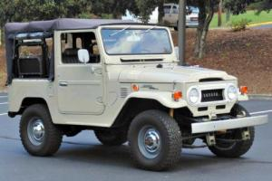 1970 Toyota Land Cruiser Soft Top Photo