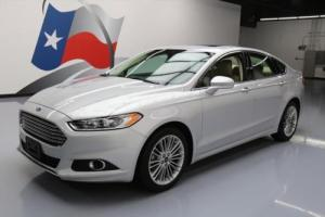 2014 Ford Fusion SE ECOBOOST SUNROOF NAV REAR CAM