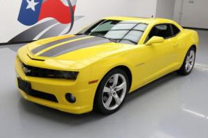 2011 Chevrolet Camaro 2SS RS SUNROOF HTD LEATHER HUD