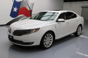 2013 Lincoln MKS ELITE DUAL SUNROOF NAV REAR CAM