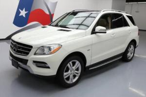 2012 Mercedes-Benz M-Class ML350ATIC AWD PANO ROOF NAV Photo