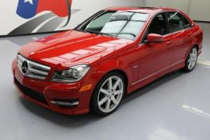 2012 Mercedes-Benz C-Class C250 SPORT TURBO P1 SUNROOF NAV