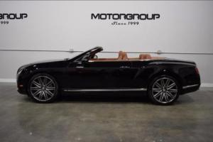 2014 Bentley Continental GT GTC Speed