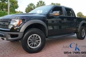 2011 Ford F-150 SVT Raptor NAV BACKUP CAM MOONROOF LOADED ONLY 21K MILES