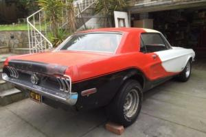 Ford Mustang 1968.5 Cobra Jet Coupe