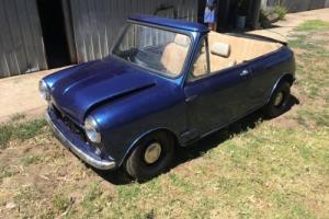 Morris Mini Deluxe (YMA2S2) Convertible Roadster Leyland Cooper S Photo
