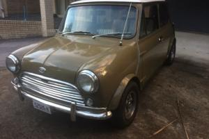 Morris - Mini 1971 (mock Cooper S - with genuine Cooper S engine and gearbox) Photo