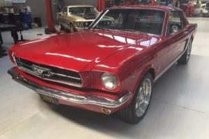 1965 ford mustang coupe immaculate new engine,auto,p/steering,4 wheel disc brake