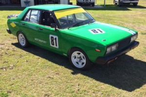 Datsun Stanza 1600cc Race Car Photo