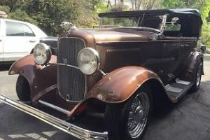 1932 Ford Four Door Convertible