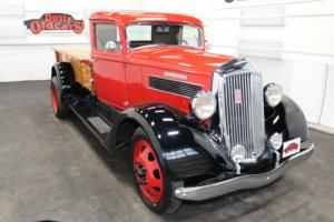 1936 REO SpeedWagon Runs Drives Body Int VGood 268I6 4 spd man