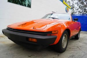 1979 Triumph TR-7 Convertible  5 SPD MANUAL WITH A/C & 21K ORIGINAL MILES!