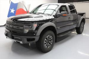 2014 Ford F-150 SVT RAPTOR 6.2L CREW 4X4 SUNROOF NAV