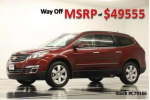 2017 Chevrolet Traverse MSRP$49555 AWD Premier Sunroof DVD GPS Siren Red