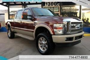 2008 Ford F-250 Super Duty King Ranch Diesel