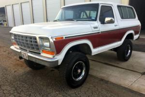 1979 Ford Bronco 1979 FORD BRONCO CONVERTIBLE