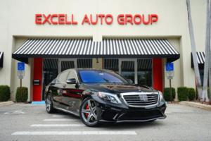 2015 Mercedes-Benz S-Class 4dr Sedan S63 AMG 4MATIC
