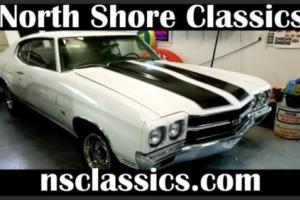 1970 Chevrolet Chevelle -REAL SS396-SUPER SPORT-FACTORY 4 SPEED-DRIVER QUA