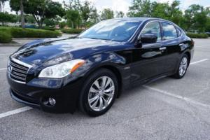 2012 Infiniti M 35h Hybrid Navigation Florida Sedan Loaded LQQK