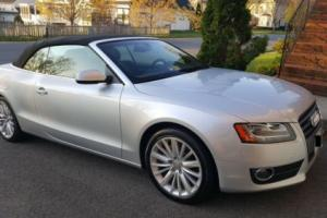 2012 Audi A5 FWD-Silver with Black interior-Low Miles