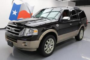 2013 Ford Expedition KING RANCH SUNROOF NAV 20'S