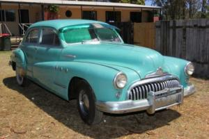 1948 Buick Super series Sedan, 37 years in dry storage, all original.