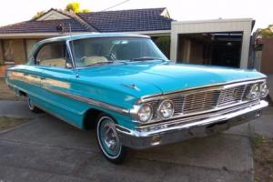 1964 Ford Galaxie 500XL 4dr Hardtop pillarless 352 V8 big block