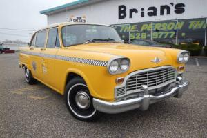 1970 Checker Cab -- Photo