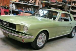 1965 Ford Mustang A Code Coupe V8 California Car! AC! RARE !!! Photo