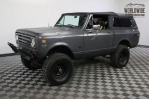 1972 International Harvester Scout HOT ROD 396 V8 AUTO SOFT TOP 4X4