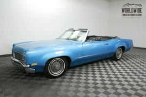 1970 Oldsmobile DELTA 88 CONVERTIBLE 3 OWNER 83K!