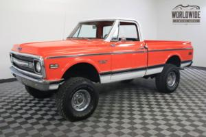 1970 Chevrolet C10 RESTORED SHOW TRUCK V8 AUTO 4X4 Photo