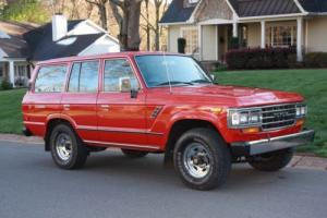 1988 Toyota Land Cruiser GX Photo