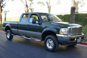 2002 Ford F-350 LOW MILES 36k ~ 4x4 DIESEL 7.3L