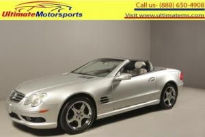 2003 Mercedes-Benz SL-Class 2003 SL500R LEATHER HEAT/COOL SEATS SPORT MODE