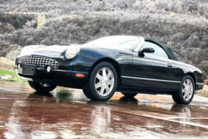 2002 Ford Thunderbird Ford Thunderbird Convertible PREMUIM EDITION