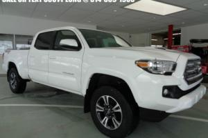 2017 Toyota Tacoma Double Cab TRD Sport V6 3.5L Navigation 4WD Long