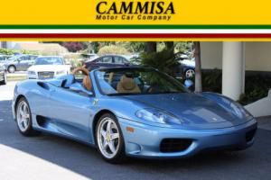 2003 Ferrari 360 RARE 6 SPEED MANUAL