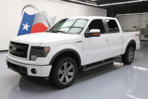 2014 Ford F-150 FX4 CREW 4X4 ECOBOOST SUNROOF NAV 20'S!
