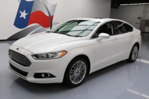 2014 Ford Fusion SE ECOBOOST LEATHER SUNROOF NAV