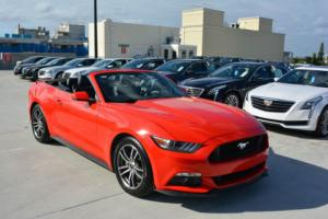 2016 Ford Mustang 2016 Ford Mustang Premium Convertible | Leather