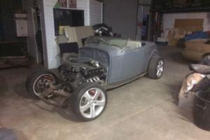 Unfinished 1932 ford roadster 5.4ltr quad cam 260boss motor tremac 6speed manual