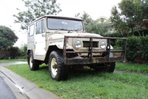1978 Toyota LandCruiser BJ40 3B Diesel 4 Spd Manual A/C SWB Hard to Find FJ40 Photo
